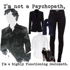 Sherlock outfit!
