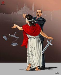 Azeri Sanatçıdan Adalet Teriminin Ülkelere Göre Nasıl Değiştiğini Gösteren 13 İllüstrasyon