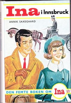Ina i Innsbruck av Annik Saxegaard Innsbruck, Baseball Cards, Reading, Sports, Books, Movies, Hs Sports, Libros, Films