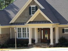 Tuscan Clay Prodigy With Matching Foundry Shakes Siding