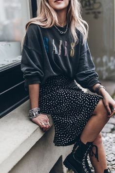 Fall Transition Outfits, Fall Winter Outfits, Casual Look, Casual Street Style, Casual Fall, October Outfits, Mode Cool, Style Minimaliste, Casual Dress Outfits