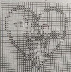 123 Cross Stitch, Cross Stitch Heart, Cross Stitch Alphabet, Cross Stitch Flowers, Cross Stitch Designs, Cross Stitch Embroidery, Beginner Cross Stitch Patterns Free, Crochet Stitches Patterns, Embroidery Patterns
