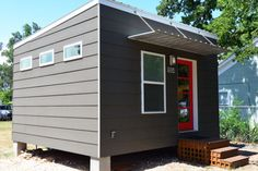 A sleek and contemporary modular tiny house from Texas!