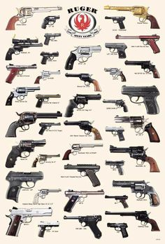 Metal Tin Sign ruger pistols Pub Home Vintage Retro Poster Cafe ART Weapons Guns, Guns And Ammo, Zombie Weapons, Weapon Concept Art, Fire Powers, Rifles, Cool Guns, Military Weapons, Le Far West