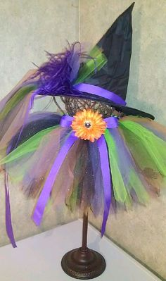 I will be making Miss Caylin's first Halloween costume...a witch!