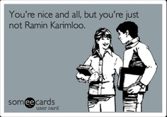 Free and Funny Flirting Ecard: You're nice and all, but you're just not Ramin Karimloo. Broadway Theatre, Musical Theatre, Musicals Broadway, Jack's Mannequin, Andrew Mcmahon, Music Of The Night, Theatre Nerds, Theater, Ramin Karimloo