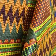 Tela Africana Batik Multicolor