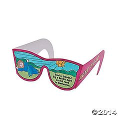 """Color Your Own """"Saul Is Blinded"""" Glasses"""