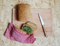 Home baked bread with Dodi