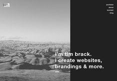tim brack - Minimal Web Design