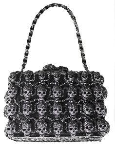 Skull Handbag By Meghan Los Angeles Purse Fashion Handbags Purses And