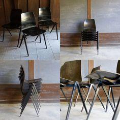 コンパスチェアブラック #インテリア #ビンテージ #インダストリアル #イームズ #フリソクラマー #ジャンプルーヴェ #北欧 #カフェ #ロフト #椅子 #チェアー #家具 #industrial #vintage #interior #eames #frisokramer #jeanprouve #dutchdesign #denmark #cafe #loft #romanandwilliams #colorandform