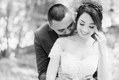 This intimate moment between is one of my all time favs. That soft kiss on the shoulder gives me the chills. Dream Wedding, Wedding Day, Bridal Dress Design, North York, Toronto Wedding Photographer, Traditional Wedding, Girls Out, Bridal Dresses, Wedding Ceremony
