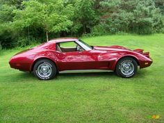 1974 Corvette Stingray Coupe - Medium Red Metallic / Neutral Beige photo #4