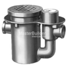 """Zurn Z690 16"""" Round Oil Intercepting Drain Extra-Heavy-Duty – MasterBuilder Mercantile Inc. Cast Iron, It Cast, Technical Documentation, Floor Drains, Water Systems, Polished Nickel, Bronze, Products, Gadget"""