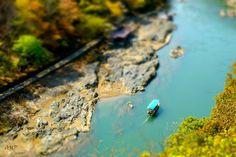 River flowing into Arashiyama