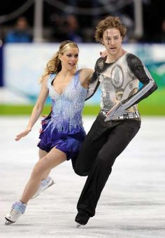 The Vancouver Winter Games Feature Brazen Ice Dancing Fashion #Olympics #sochi