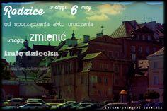 możliwość zmiany imienia dziecka www.adwokat-sarzynski.pl grzegorz sarzyński adwokaci tarnobrzeg sandomierz lublin stalowa wola nisko mielec nowa dęba