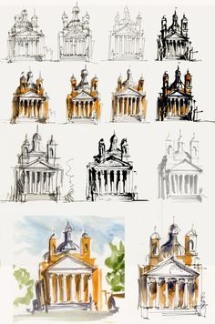 Liz Steel- Sketching Architecture: May 2012