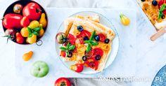 Tarta à la pizza z pomidorami | Ania Starmach