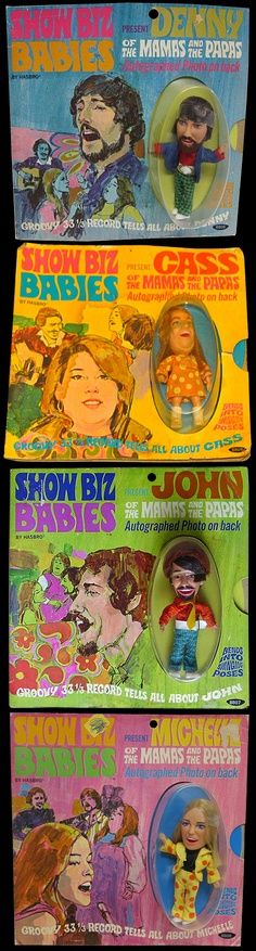 Mammas and the Pappas dolls  <3 childhood dreamin :) Vintage Toys 1960s, Vintage Dolls, Crissy Doll, Papa Baby, Susan Dey, Andy Gibb, Famous Musicians, Never Grow Up, Mamas And Papas