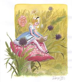 ✯ Alice in Wonderland .. By Mathieu Reynès✯