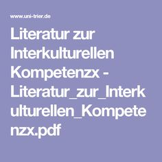 Literatur zur Interkulturellen Kompetenzx - Literatur_zur_Interkulturellen_Kompetenzx.pdf