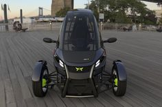 Electric 3 wheeler: https://www.arcimoto.com/
