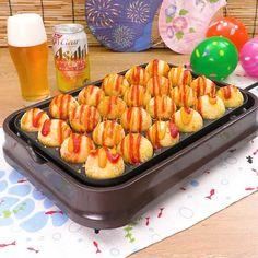 Takoyaki Pan, Delish Kitchen, Dim Sum, Grill Pan, Sausage, Grilling, Asian, Meat, Cooking