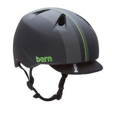 Bern Nino Summer Matte Black Yellow Racing Stripe Graphic Helmet (Adjustable), X-Small/Small by Bern. $40.04. Imagine one helmet for kids that can be used for both summer and winter action sports that looks so good boys want to wear it. Made with low-profile Zipmold foam, the Nino has 7 vents and is adjustable to two sizes. Value and style - a smart purchase for parents.. Save 20% Off!