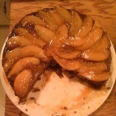 Gingerbread-caramel-pear upside down cake!
