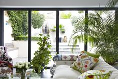 This truly stunning home in Wandsworth, England  mixes a semi-Victorian facade with an updated modern interior with eclectic vibe