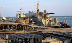 Indonesian navy patrol ships at Natuna Island, Indonesia. Picture by Victor Robert Lee. https://sites.google.com/site/victorrobertlee/