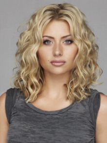 medium curly hair - so pretty! Another potential cut? More brown low lights…                                                                                                                                                                                 More