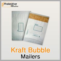 Kraft paper mailers are eco-friendly and are made from recycled materials which make it an ideal choice. These mailers are also reusable and therefore it can cut down the overall cost. Bubble Wrap Envelopes, Kraft Paper, Recycled Materials, Recycling, Eco Friendly, Internet, Shop, Upcycle, Store