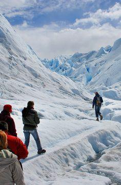 Ice trekking on Perito Moreno Glacier, Argentina Patagonia Travel, In Patagonia, Tourist Places, Places To Travel, Places To Visit, Travel Destinations, South America Travel, Adventure Travel, Travel Photos