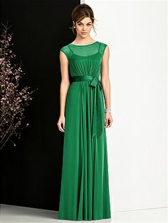 Long Emerald Green Dress...Rest of the other madrinas..
