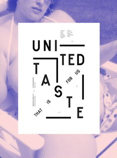 Les Graphiquants - United Taste - 2012