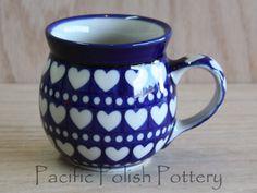 Polish Pottery 8oz Bubble Mug (Pattern 375e)