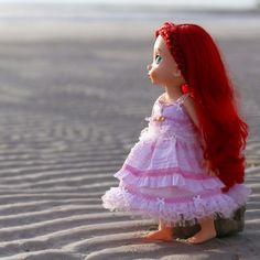 "Pink dress. For Disney animator dolls 16"" ."
