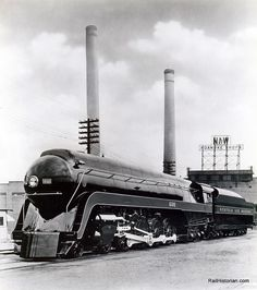 Norfolk and Western 4-8-4 J Class engine # 600. 15 were built, only one survives, number 610