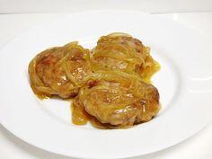 Filetes rusos encebollados - Mis cosillas de Cocina Garlic, Chicken, Vegetables, Healthy, Gastronomia, Amor, Ground Beef Recipes, Steaks, Cooking Recipes