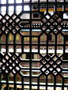 CultureInCart — Traditional Chinese antique carved window lattice ...