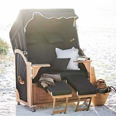 1000 images about strandkorb on pinterest beach chairs. Black Bedroom Furniture Sets. Home Design Ideas