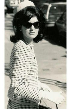 Jackie Kennedy: style icon, classy lady, and my supposed look-alike.