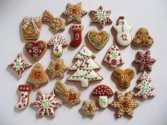Moha Konyha mézesei Christmas Gingerbread, Christmas Love, Christmas Goodies, Winter Christmas, Gingerbread Cookies, Gingerbread Houses, Holiday Snacks, Holiday Fun, Xmas Cookies