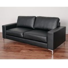 Shop for CorLiving Cory Contemporary Bonded Leather Sofa. Get free shipping at Overstock.com - Your Online Furniture Outlet Store! Get 5% in rewards with Club O! - 19491759