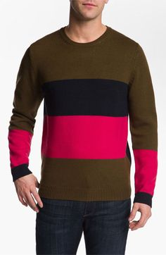 MARC BY MARC JACOBS 'Freddie' Wool Crewneck Sweater available at #Nordstrom