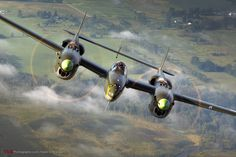 P-38 Lightning:  photo by-Tyson Rininger
