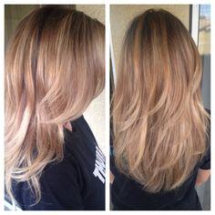 Blonde Balayage #ummcupcake #lasvegashair